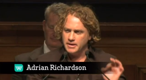 "Richardson, who was killed a chicken with his bare hands, has ""no problem"" with eating meat (although he makes sure to emphasize that going vegetarian is a ""noble"" choice), and denounces the proposition to take meat off the menu as ""un-Australian""."