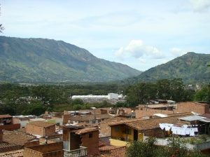 Girardota, Antioquia, Colombia.  The town where my Grandmother lives.