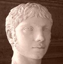 Roman Emperor Elagabalo
