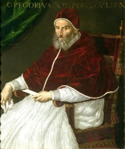 Pope Gregory the XIII