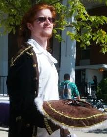 Jimmy Palmer in Pirate Regalia