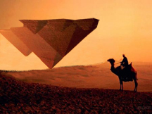 To visualize Foundationalism, think of an upside down pyramid.