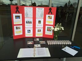Memorial at Ed Roberts Campus, Berkeley, CA.  Photo courtesy Ala Costa Adult Transition Program