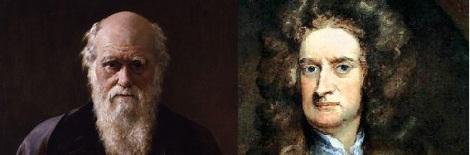 Newton and Darwin