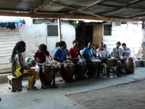 Men Drumming